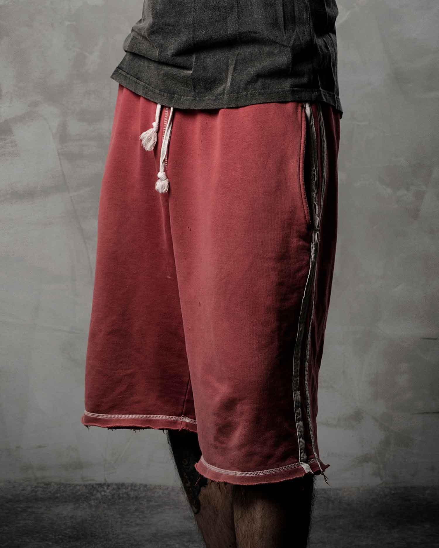 red sprinter shorts